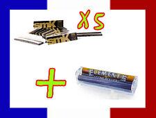 5 carnets de longue feuille à rouler SMOKING SMK + Rouleuse cigarette Elements
