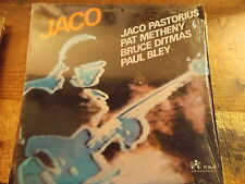 PASTORIUS/METHENY/DITMAS/BLEY - JACO   LP