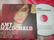 Amy Macdonald ‎– Mr Rock & Roll Vertigo ‎– ROCKCJ1 UK Promo CD Single
