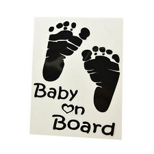1 Pcs Reflective Baby on Board Warning Car Stickers Acessories Decoration  AU