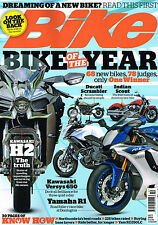 BIKE MAGAZINE October 2015 Bike Of The Year NINJA H2 Versys 650 INDIAN SCOUT New