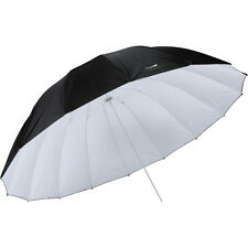 Impact 7' Parabolic Umbrella (White/Black)