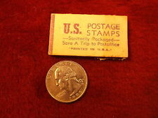 "1950's? US POSTAGE STAMPS ""BOOK"", SANITARILY PACKAGED, 20 CENT SPECIAL DELIVERY"