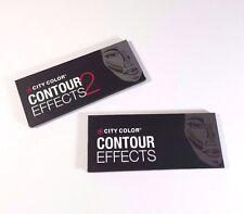 City color contour effect #1 and #2 - 390 PCs & 120 PCs cream corrector palette