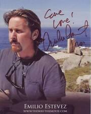 EMILIO ESTEVEZ Autographed Signed THE WAY Photograph - To Eve