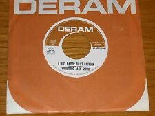 "60's ROCK 45 RPM - WHISTLING JACK SMITH - DERAM 85005 - ""I WAS KAISER...BATMAN"""