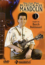 You Can Play Bluegrass Mandolin DVD 1 Butch Baldassari