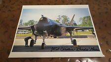 Lt Col Christine Mao 1st Female pilot F-35 Lightning II signed autographed photo