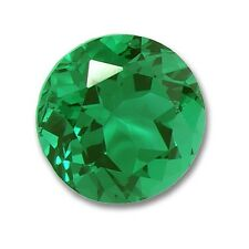 Lab Grown Emerald Round 4mm Lot of 10 Stones Ebays Best Deal