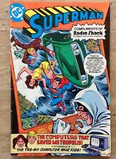 SUPERMAN: THE COMPUTER THAT SAVED METROPOLIS DC 1980 RADIO SHACK Whiz Kids