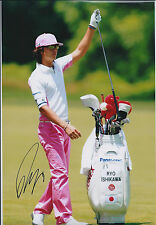 Ryo Ishikawa (Japan) SIGNED Autograph 12x8 Photo AFTAL COA Golf Tour Winner RARE