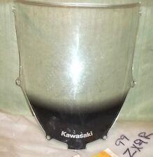 OEM 2000-01 Kawasaki Ninja ZX-9R WINDSHIELD~Clear~P/N 39154-5012 (#2665