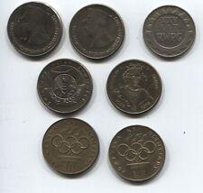 Polen 1 x 20, 4 x 50 und 2 x 200 Zloty Gedenkmünzen 1974-81 gut erhalten (S-015)