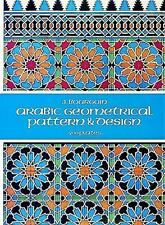 Dover Pictorial Archive: Arabic Geometrical Pattern and Design by J. Bourgoin...