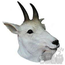 Latex Animal Overhead Hoofed Rocky Mountain Goat Props Stag Hen Fancy Party Mask