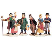 Lemax Figuren - 92356, (669), Village People Figurines, Set/6, Weihnachtsdorf,