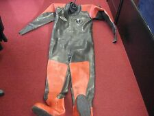 Hunter Pro HD 1500 Vulcanized Rubber Commercial Dry Suit Scuba Diving