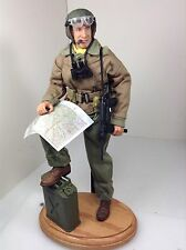 1/6 21ST CENTURY US 4TH ARMORED DIV TANK COMMANDER FURY&STAND WW2 DRAGON BBI DID