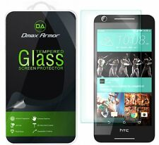 Dmax Armor® HTC Desire 625 Tempered Glass Screen Protector Saver Shield
