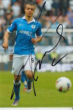 WIGAN HAND SIGNED FRANCO DI SANTO 6X4 PHOTO.