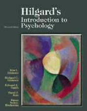 Hilgard's Introduction to Psychology-ExLibrary