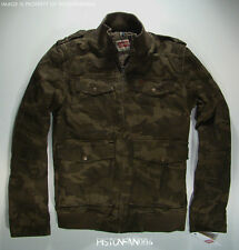 Levis Mens Camo Military Jacket SMALL NWT