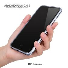 4thdesign Armond Aluminium Metal Bumper Cases Cover for iPhone 6 Plus Titan Gray