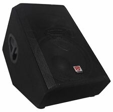 "Rockville RSM15P 15"" 1400 Watt 2-Way Passive Stage Floor Monitor Speaker"