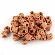 Burnt Red Ceramic Ring Filter Media | 500g | Loose Pack | Aquarium Filter Media