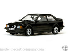 FORD ESCORT MKIII XR3i 1:18 DIECAST MODEL IN BLACK LHD SUPERB ITEM BOXED NEW