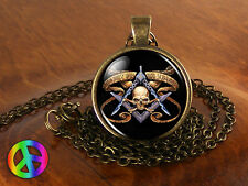 Masonic Free Mason Freemason Illuminati Mens Men Necklace Pendant Jewelry Gift 6