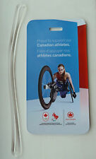 Air Canada 2012 London Olympics Supporting Canadian Athletes Luggage Name Tag