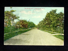 1914 Homes Boulevard College Point NY post card Queens