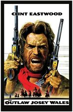 "CLINT EASTWOOD POSTER. 11X17. ""THE OUTLAW JOSEY WALES""......NEW"