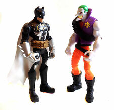 "DC Comics Superheroes  BATMAN & JOKER  6"" action toy figures, justice, flash"