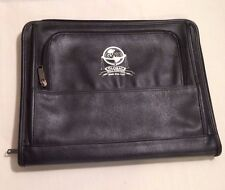 Leeed's BLACK LEATHER 13 1/2 INCH LAPTOP CASE
