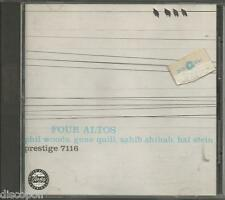 PHIL WOODS / GENE QUILL / SAHIB SHIHAB / HAL STEIN Four altos CD NEW NOT SEALED
