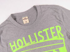(MJ1975) HOLLISTER T-SHIRT TOP ORIGINAL PREMIUM SURFER GREY CASUAL size M