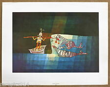 Paul Klee  Sinbad The Sailor Rare Vintage 1st Printing 1960s Lithograph