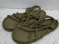 NOMADIC State Of Mind Organic NC Rope Sandals Women sz 9.5 Worn Once