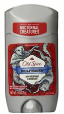 Old Spice Wild Collection Wolfthorn Scent Men's Deodorant 2.6 oz (4 pack)