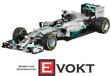 Minichamps Mercedes AMG Petronas Formula 1 Model Car 1:43 2014 Rosberg Genuine