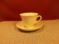Wedgwood China Queen's Plain Cup & Saucer Set