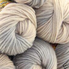 NEW Lot of 6 x50g balls Chunky Hand Coarse Knitting Rainbows Wool Quick Yarn 805
