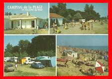 CPM-85- St HILAIRE de RIEZ - Camping de la plage  ( Multivues )
