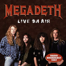 MEGADETH New Sealed 2016 UNRELEASED LIVE 1987 CONCERT CD