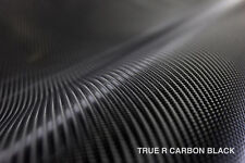 Black 4D True R carbon fiber VVIVID vinyl 10ft x 5ft car wrap