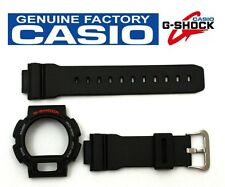 CASIO DW-9052 G-Shock Original Black BAND & BEZEL Combo DW-9050 DW-9051