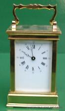 L'EPEE ANGELUS VINTAGE FRENCH 8 DAY TIMEPIECE CARRIAGE CLOCK