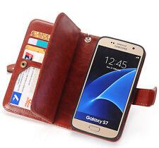 Magnetic Filp PU Leather Cell Phone Cover Case Card Wallet For Samsung Galaxy S3
